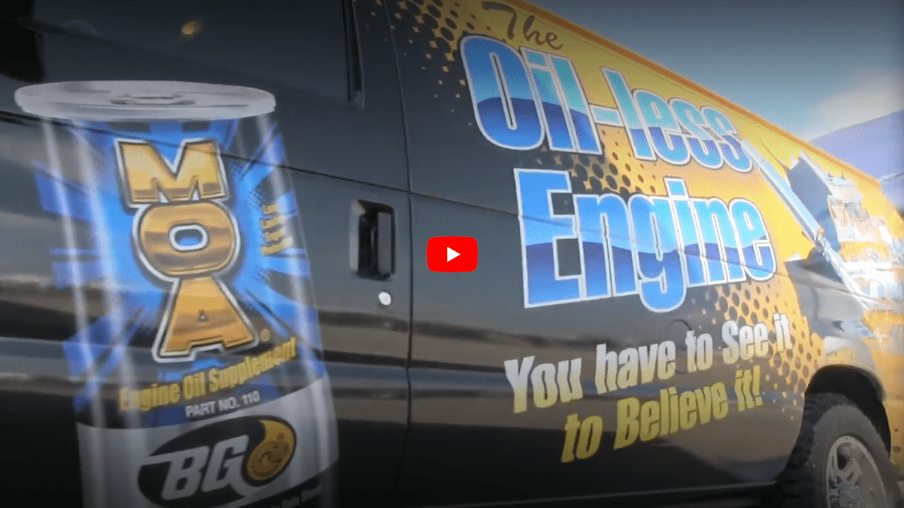 BG MOA Oil less Engine Demo Van