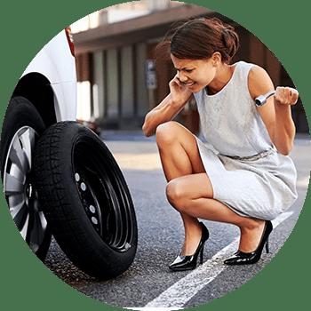 Flat Tire Repair in Surrey Newton, BC